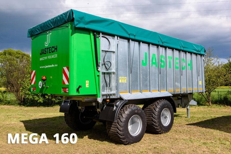 Agricultural bulk trailer