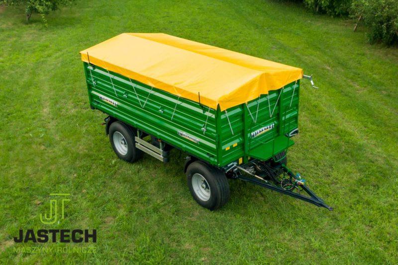 Przyczepa rolnicza Hummel do 10 ton