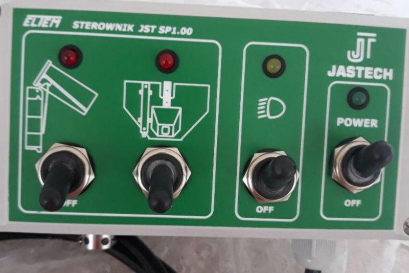 panel sterowania rozrzutnika